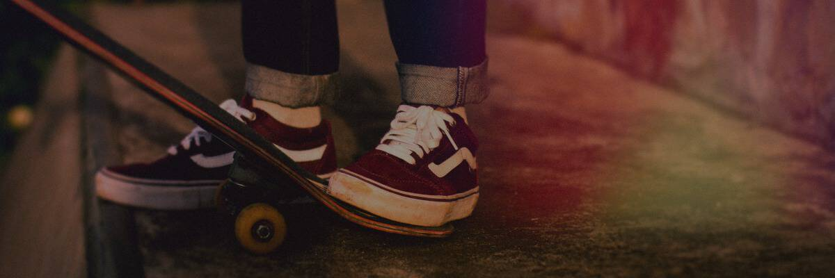 Schuhe mit Rollen Hero