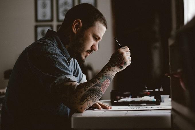Künstler werden Hero