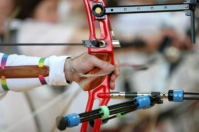 Olympisches Bogenschießen Hero