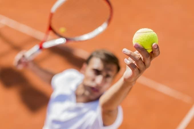 Tennis Aufschlag Hero