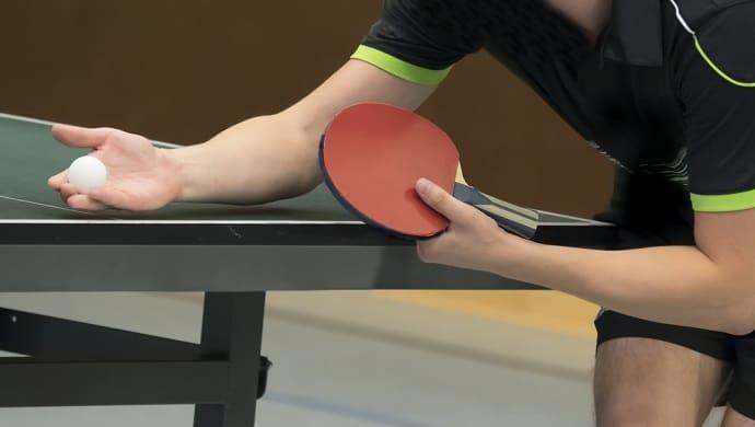 Tischtennis Aufschlag Hero