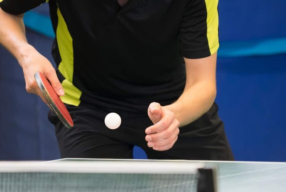 Tischtennis Griff Hero