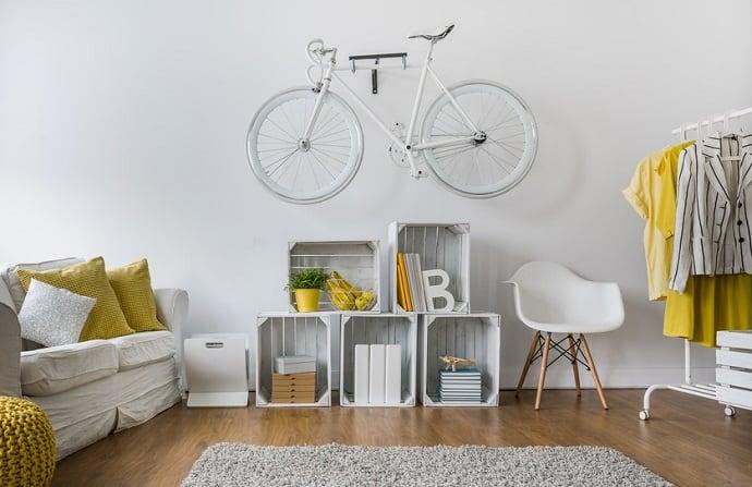 Fahrrad Wandhalterung selber bauen Hero