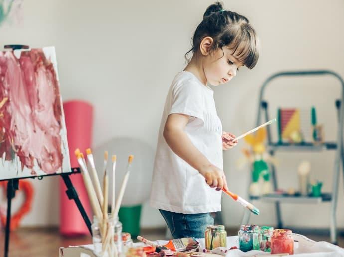 Malen mit Kindern Hero